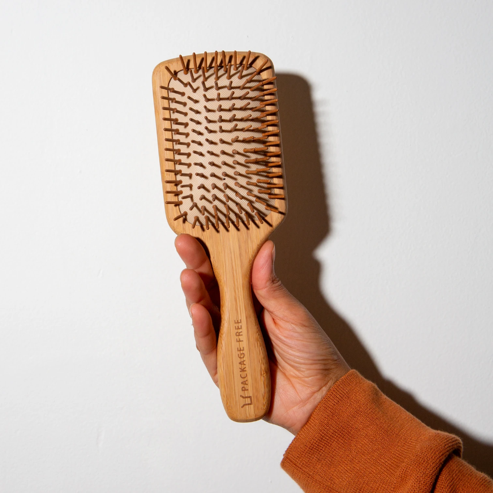 Package Free Bamboo Hairbrush Wooden Hair Brush Bamboo Hair Brush Hair Care Kits