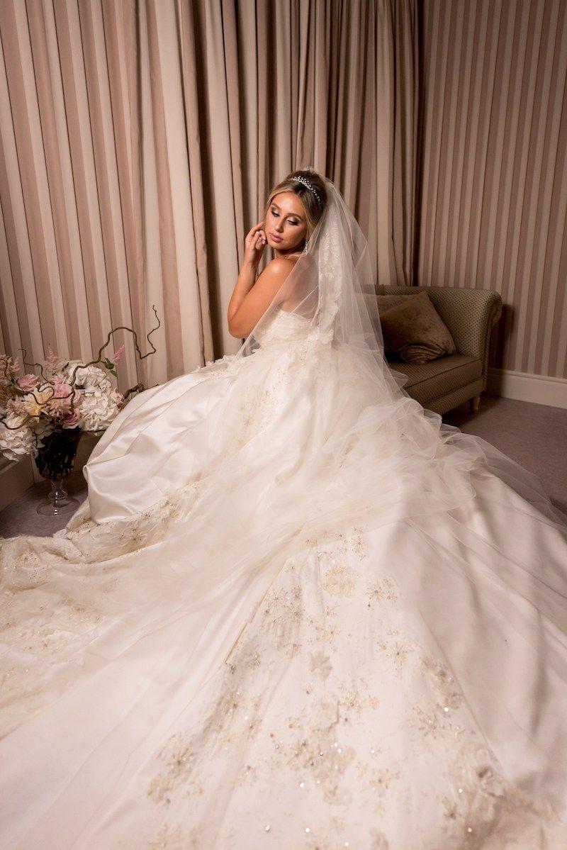 Gold bridal gown nargis stephen south asian wedding blog elie saab bridal gown ela anil south asian wedding blog think shaadi ombrellifo Gallery