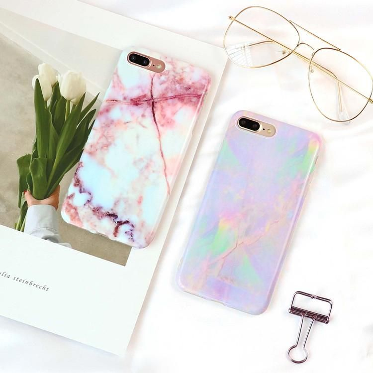 Smooth Marble Pattern iPhone Cool Colored Granite Cases For iPhone 6 Case 7  6S Plus iPhone 2c93acb89893