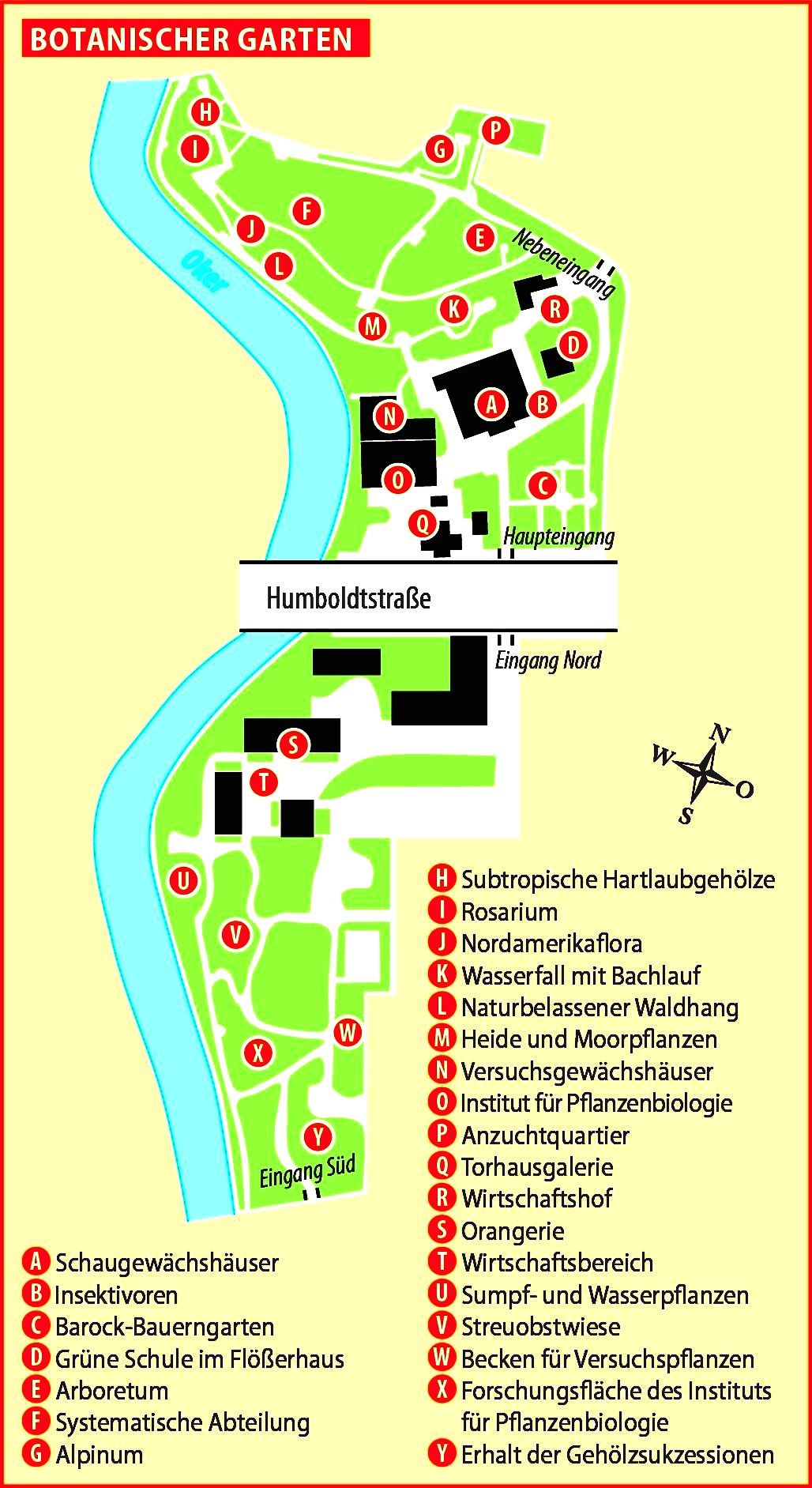 Gartenplan Tu Braunschweig Garten Botanischer Garten Planer