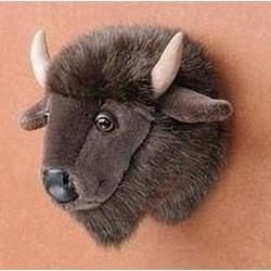 "7.5"" Buffalo Head Plush..."