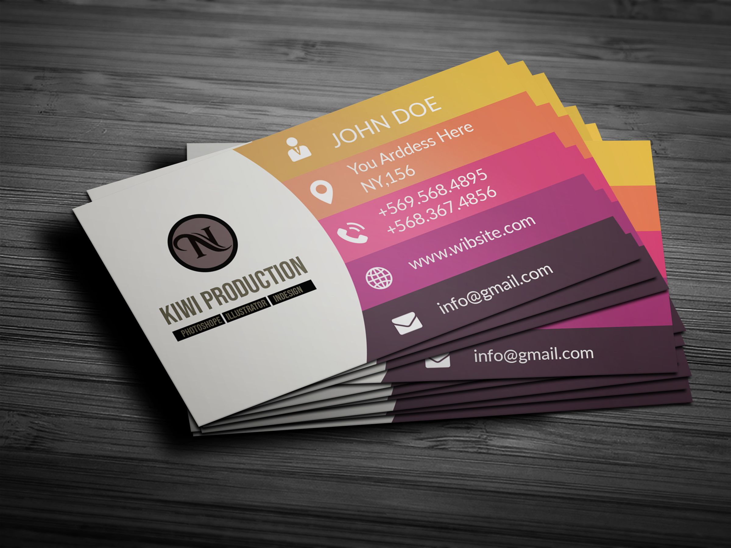 Wahid Designer I Will Do Professional Business Card Design In 2 Hrs For 5 On Professional Business Card Design Business Card Psd Professional Business Cards