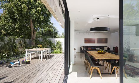 SH House, Ramat HaSharon, 2015 - Lior Rozenfeld Dining Pinterest