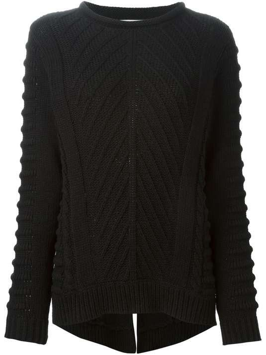 Love the Dagmar DAGMAR cable knit sweater on Wantering.