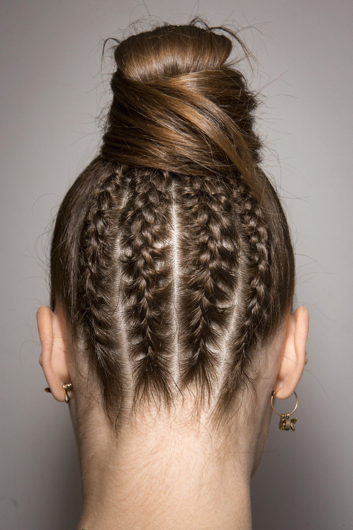 If you're stumped on how to wear your hair try the versatile braid! #hair #fashion #trends #braids