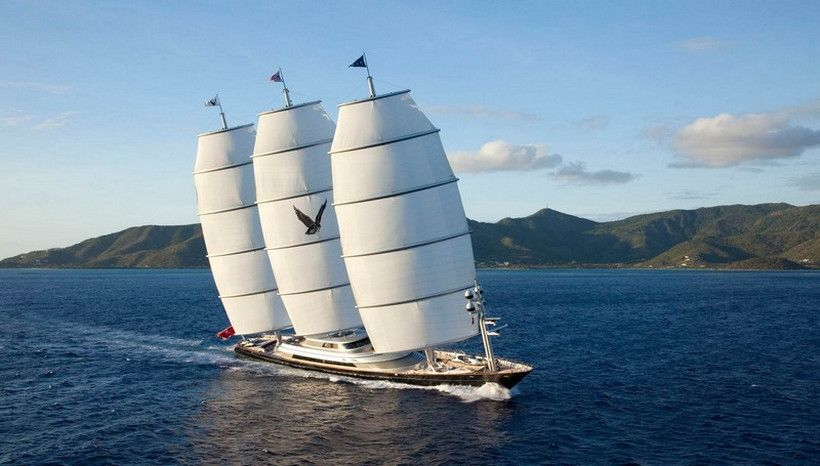 The Maltese Falcon Is The Majestic Vessel Of Your Dreams Maltese Falcon Yacht Sailing Best Yachts