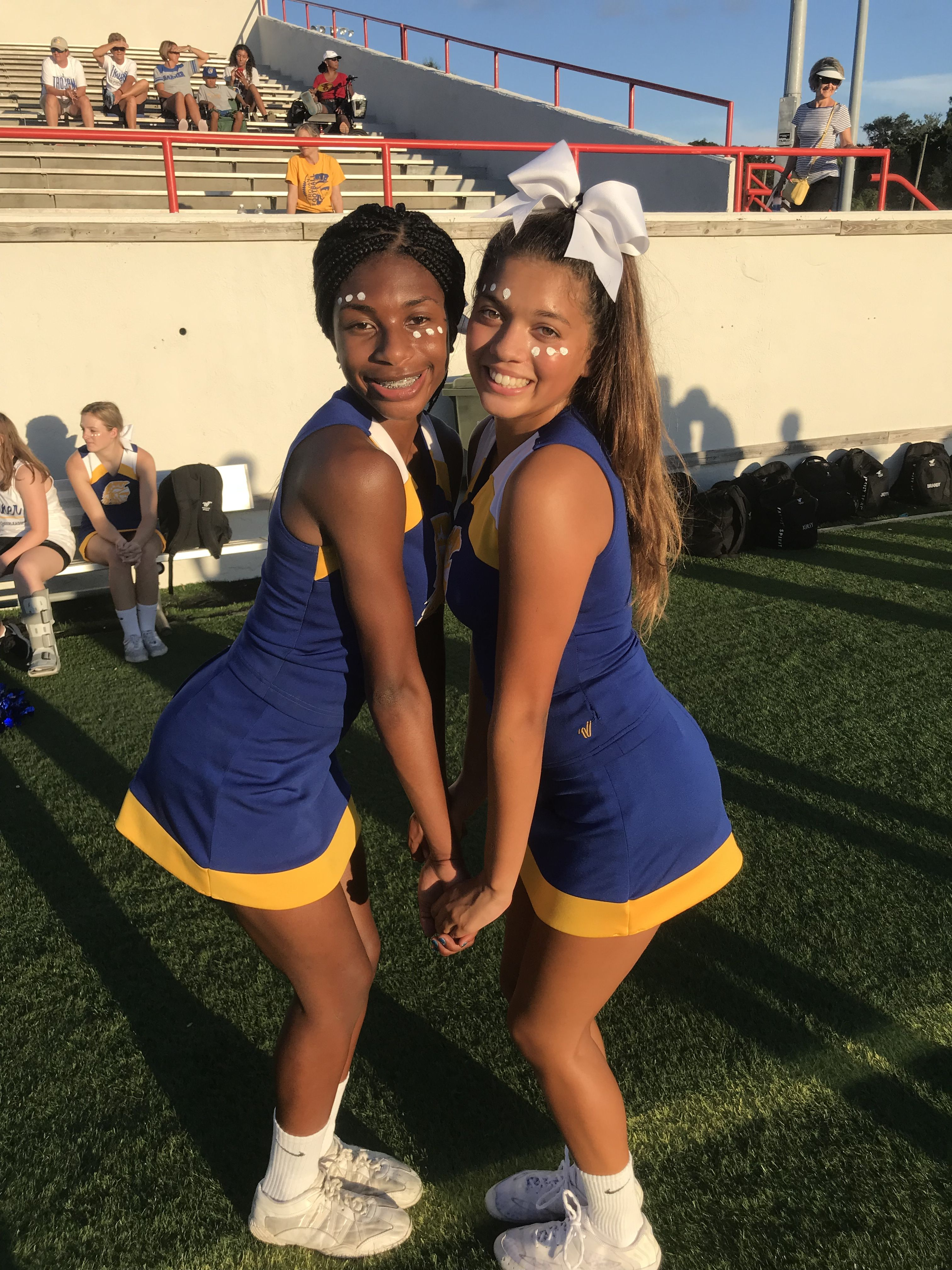 Laysiasopretty Cute Cheer Pictures Black Cheerleaders Cute Cheerleaders