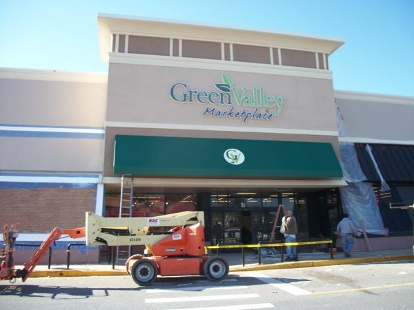 retail fabric awnings | Retail Store and Shopping Center ...