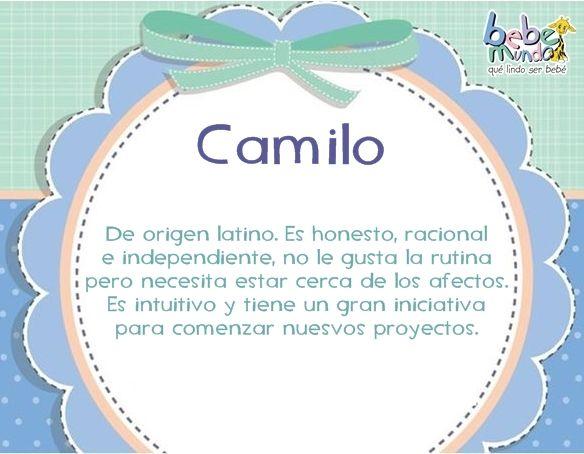 Camilo Gabriel Nombre Nombres De Bebes Significados De Los Nombres