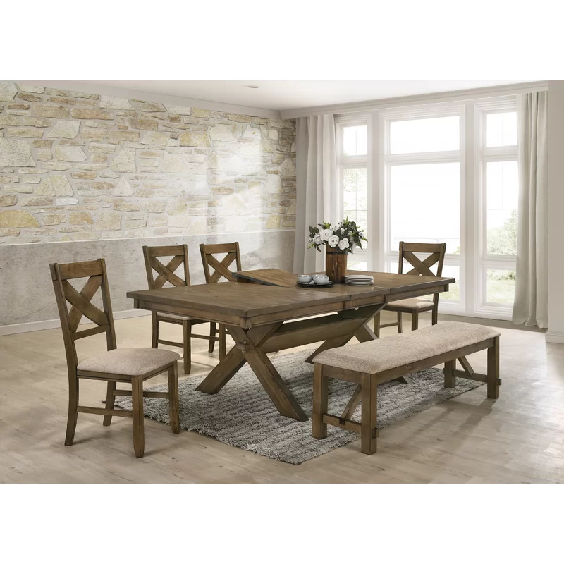Cornelia 6 Piece Extendable Dining Set In 2020 Dining Room Sets