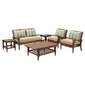 Thomasville Palmetto Estates 6 Piece Patio Seating Set 1299