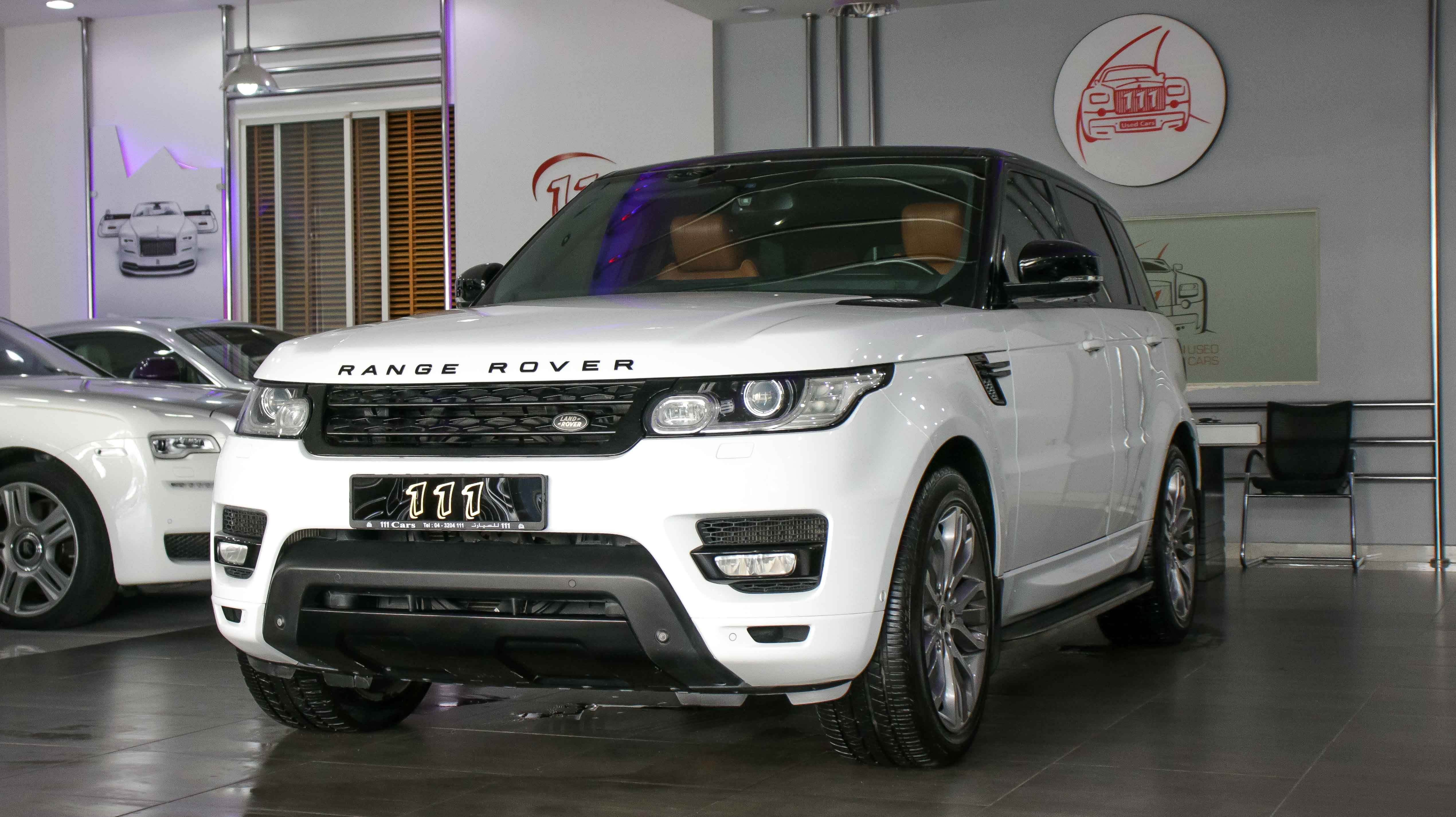 Model Range Rover Sport Supercharged Gcc Specs Year 2014 Km