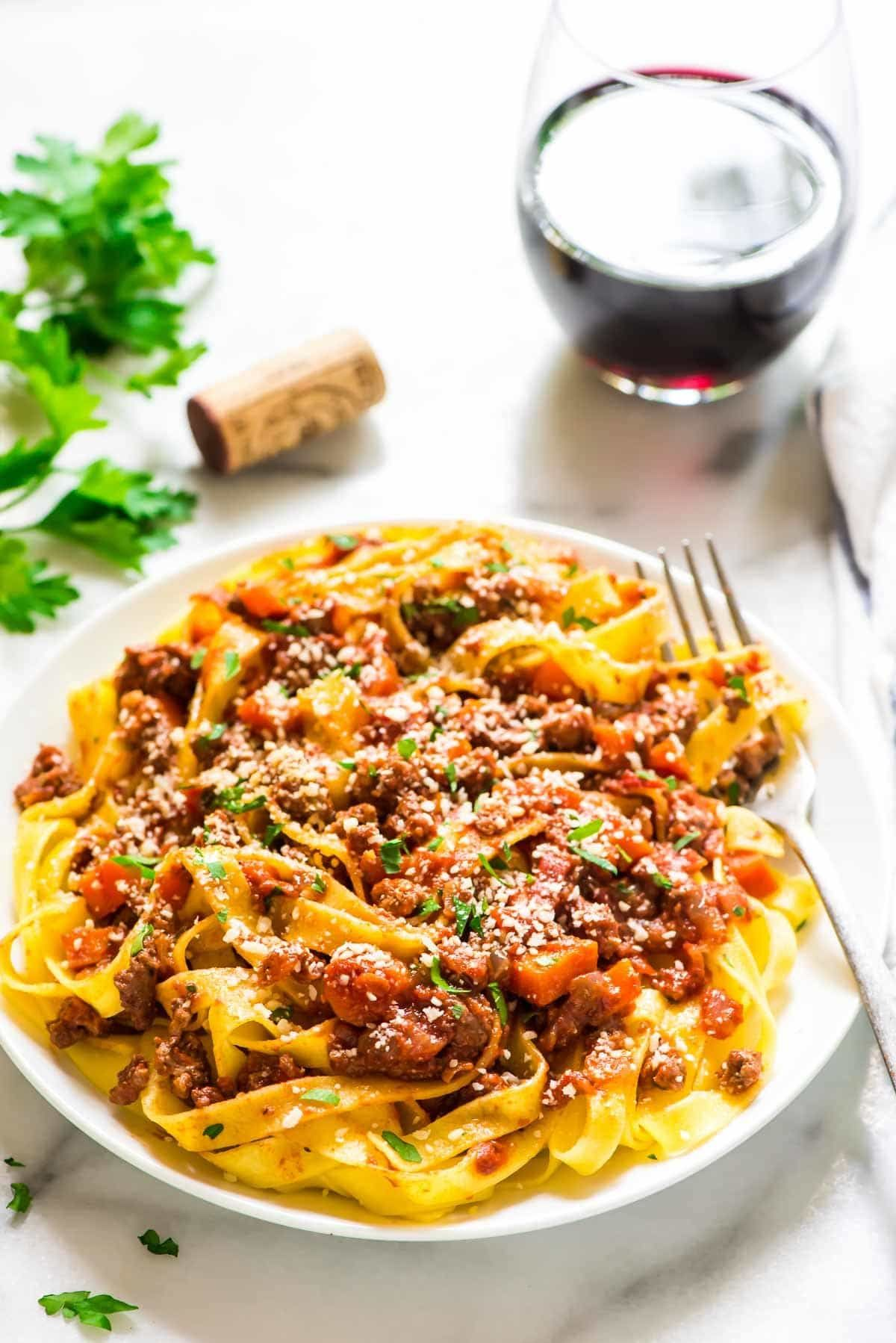 Healthy Turkey Bolognese. Quick, easy, and tastes ...