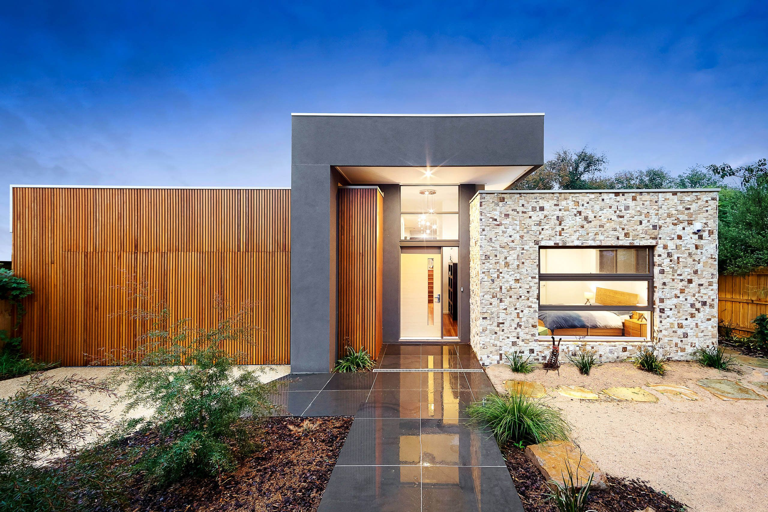 Home in alphington by latitude facade pinterest