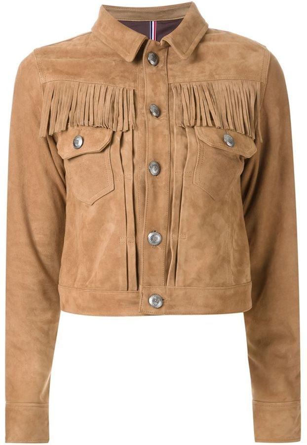 Guild Prime fringed jacket