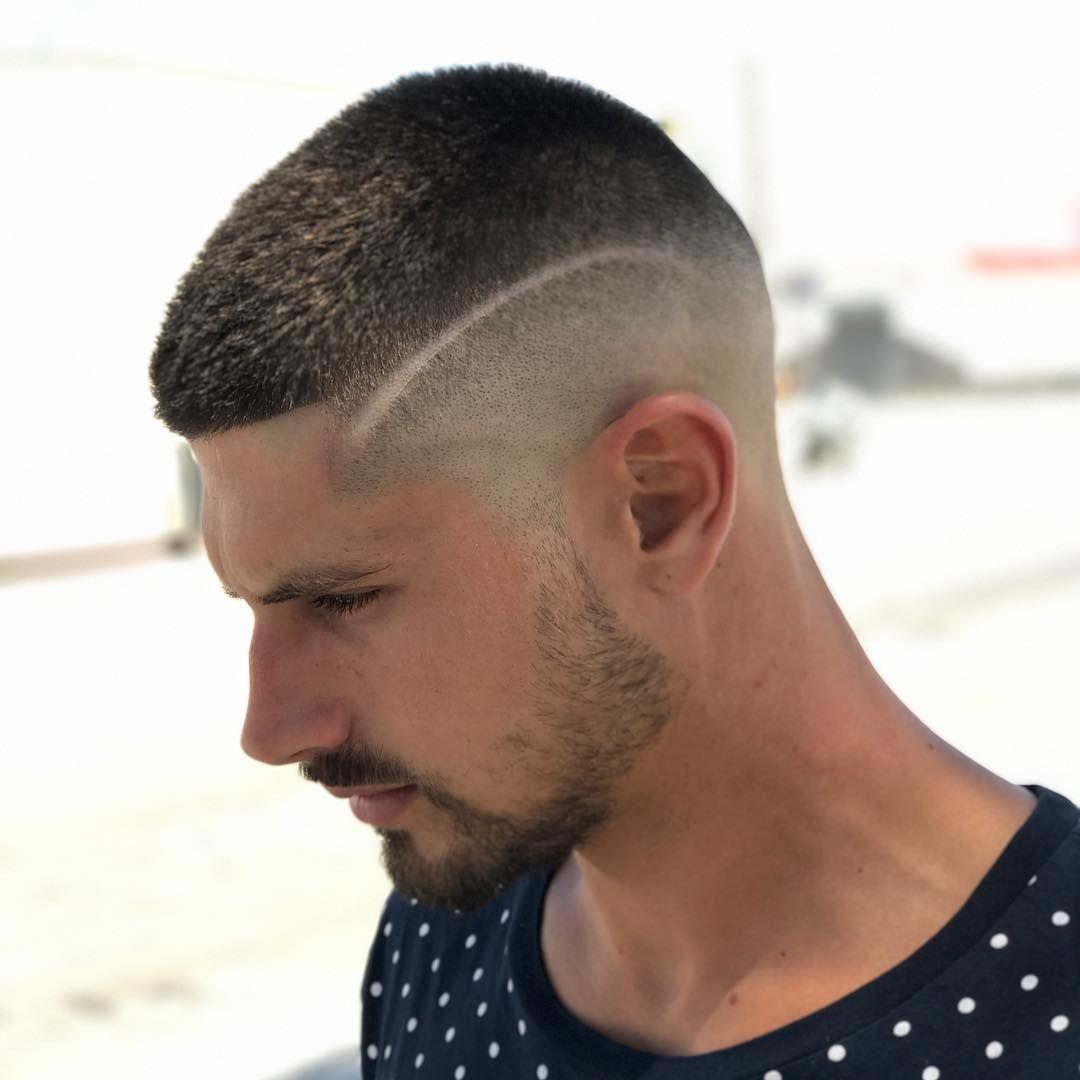 the modern buzz haircut | sleeve tattoo | pinterest | buzz haircut