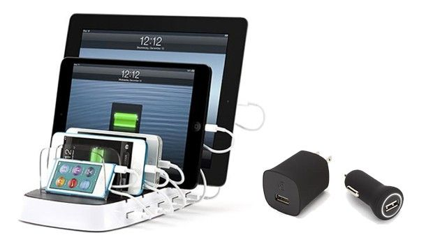 Griffin launches PowerDock 5 multidevice charging platform and ChargeSensor adapters
