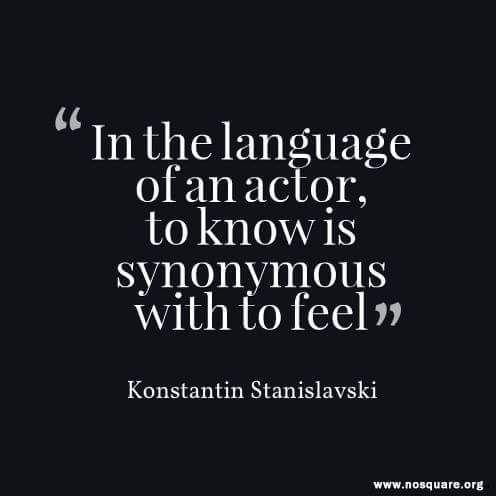 stanislavski acting quote