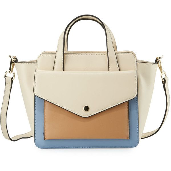 Kc Jagger Peyton Small Leather Satchel Bag 85 Liked On Polyvore Featuring Bags