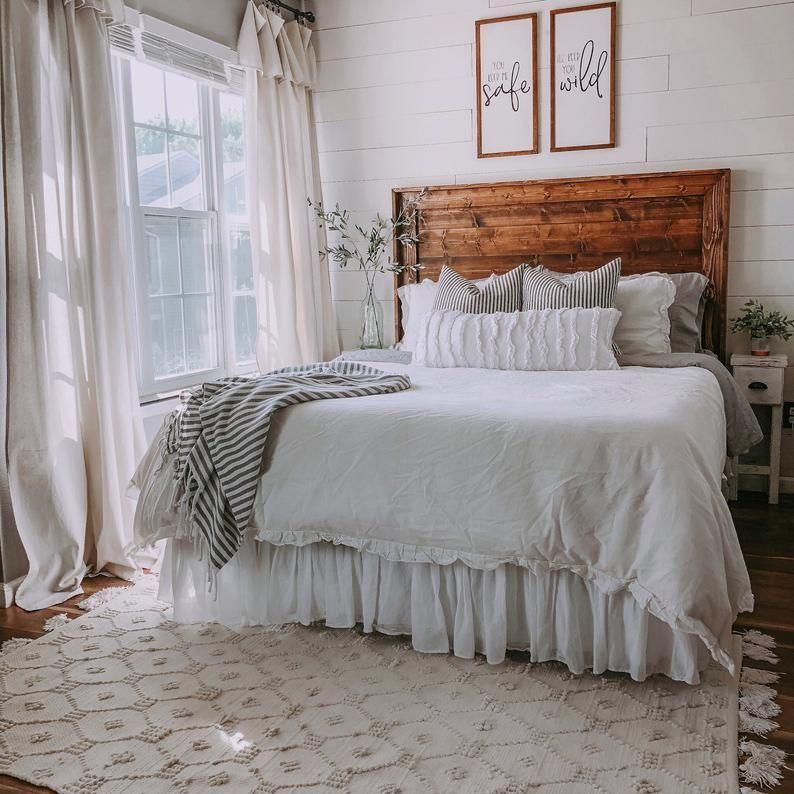 You Keep Me Safe, I'll Keep You Wild Painted Wood Sign // Wedding Decor // Newlyweds // Bedroom Decor // Farmhouse // Anniversary Gift