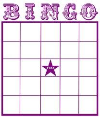 Get A Blank Bingo Card And Fill In Names From The People In Your