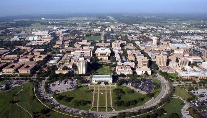 Texas A M University Aggies Campus Aerial View Of Aggieland College Station Texas Texas A M Texas A M University