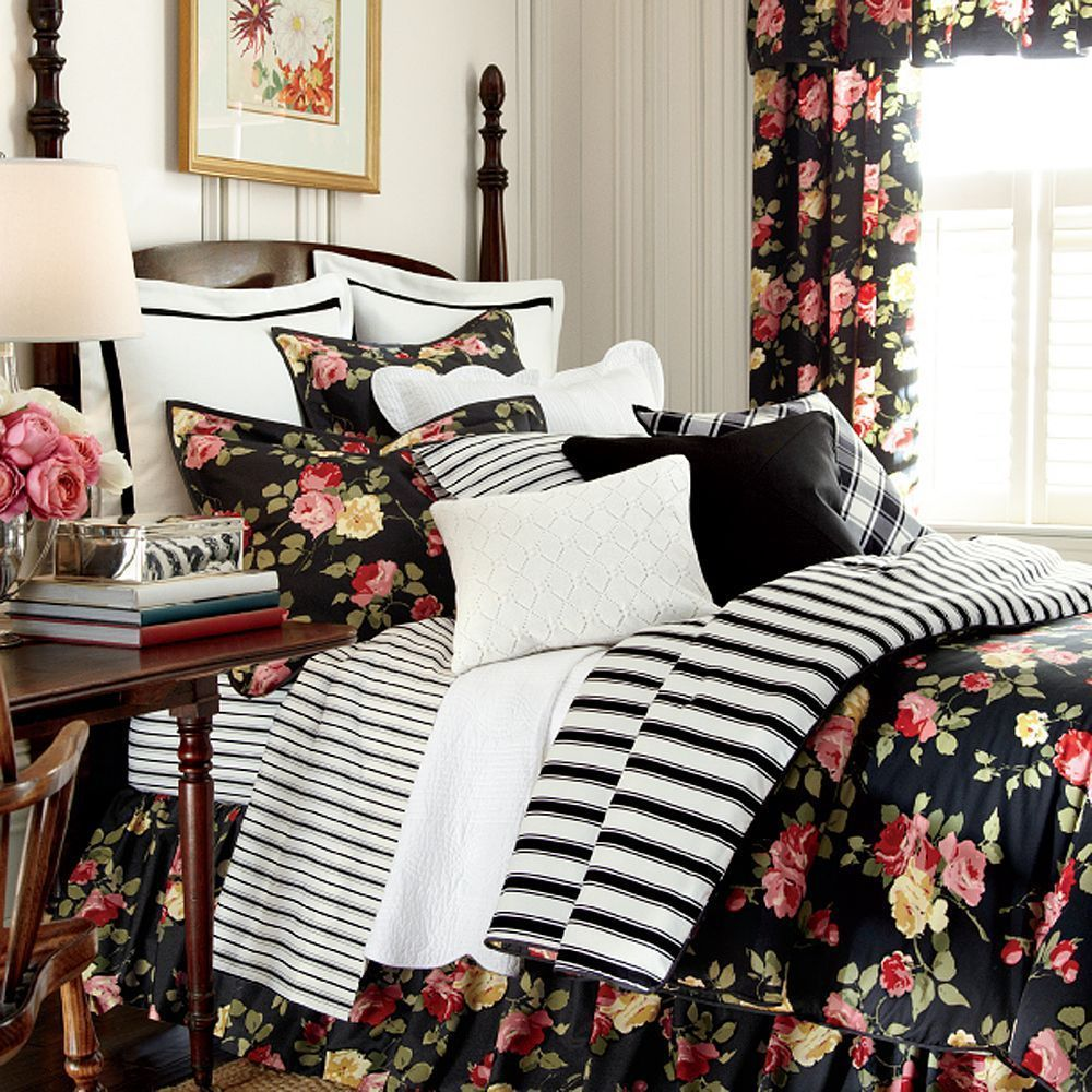 chaps bedspreads bedding black white cool sets and king set beautiful comforter checkered