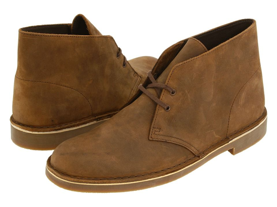 Clarks Bushacre 2 Beeswax Leather Men S Lace Up Boots Mens Lace Up Boots Boots Clarks Bushacre