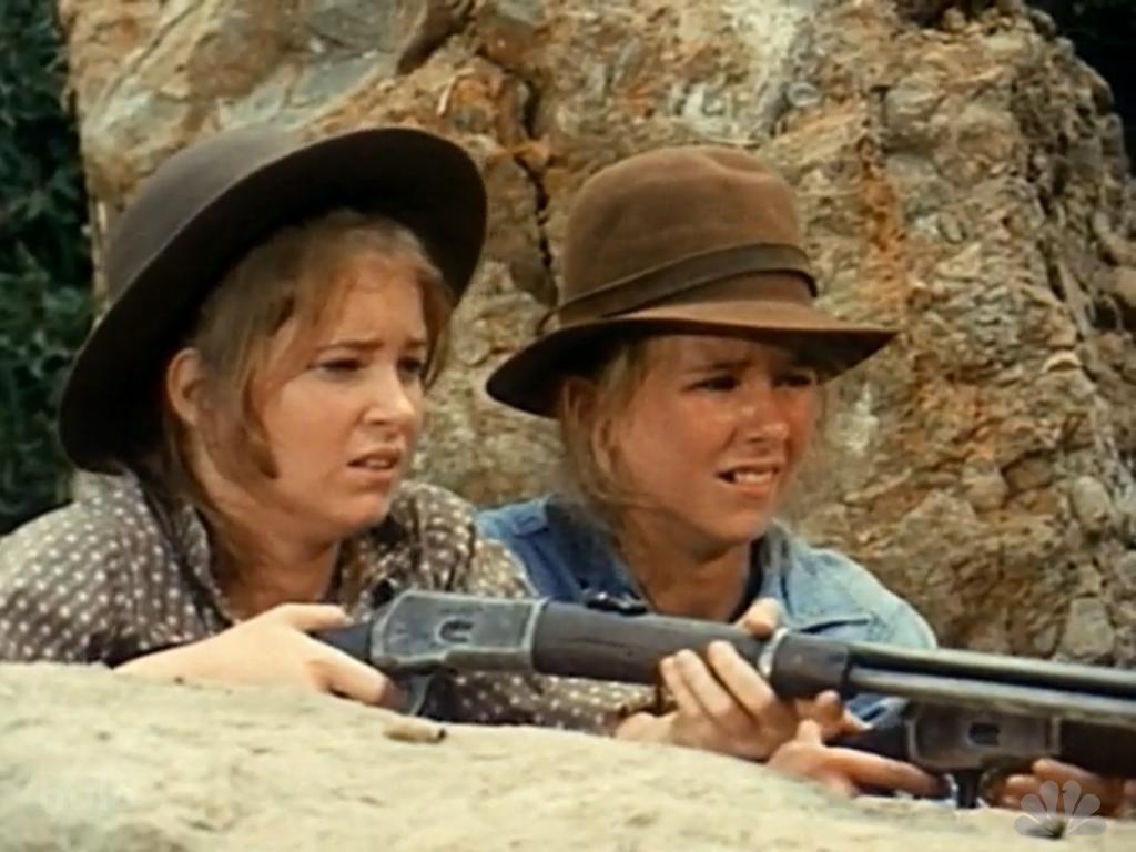 Cindy and Lisa Eilbacher