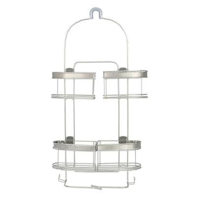 Zenna Home Premium Expandable Shower Caddy For Hand Held Shower Or