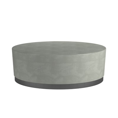 Lucca Concrete Outdoor Round Coffee Table In 2019 Round