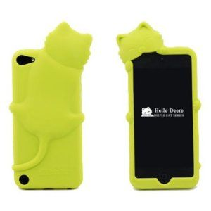 093364fff2 Lemon Lovely Kiki Cat Silicone Case Cover for Apple iPod Touch 5th  Generation 5G