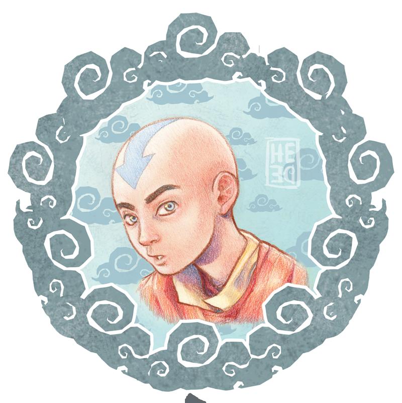 Aang by He-de.deviantart.com on @DeviantArt | Aang, Avatar ...