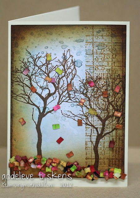 Bind-it-All confetti - what a creative mind!