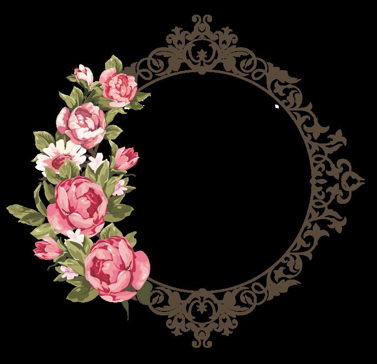 ثيمات قرقيعان جاهزة للطباعة2018 اطارت فوتوشوب للتصميم ثيمات 3dlat Com 12 18 748f Flower Frame Flower Frame Png Rose Frame