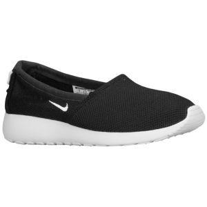 Black · Nike Roshe Run Slip - Women's - Black/Geranium/Light Base Grey/White