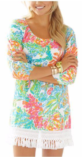 2d8142ebdd458 Lilly Pulitzer Alia Beach Cover-up in Casa Marina
