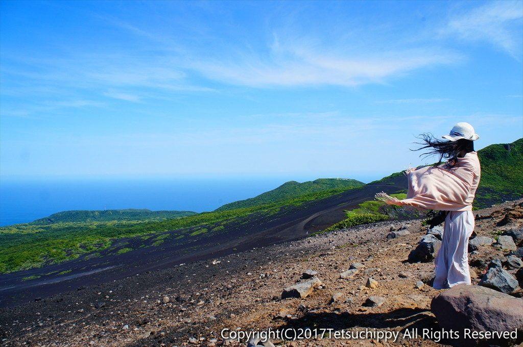 日本 東京 日本唯一の砂漠 伊豆大島の裏砂漠 てつちぴ旅 伊豆大島 旅 伊豆