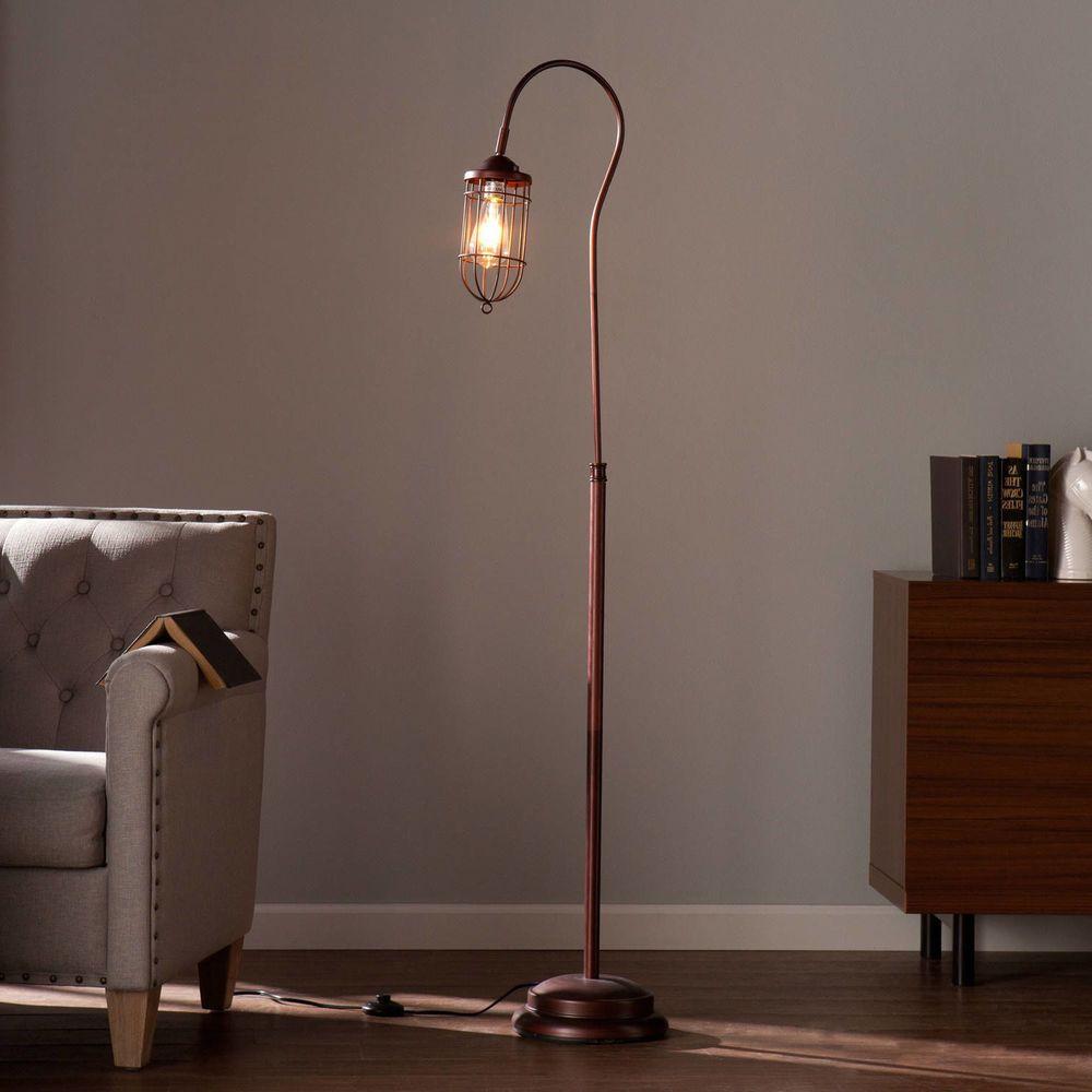 Vintage Retro Floor Lamp Edison Bulb Rustic Torchiere Living Room Reading Led Bronze Floor Lamp Industrial Floor Lamps Floor Lamp