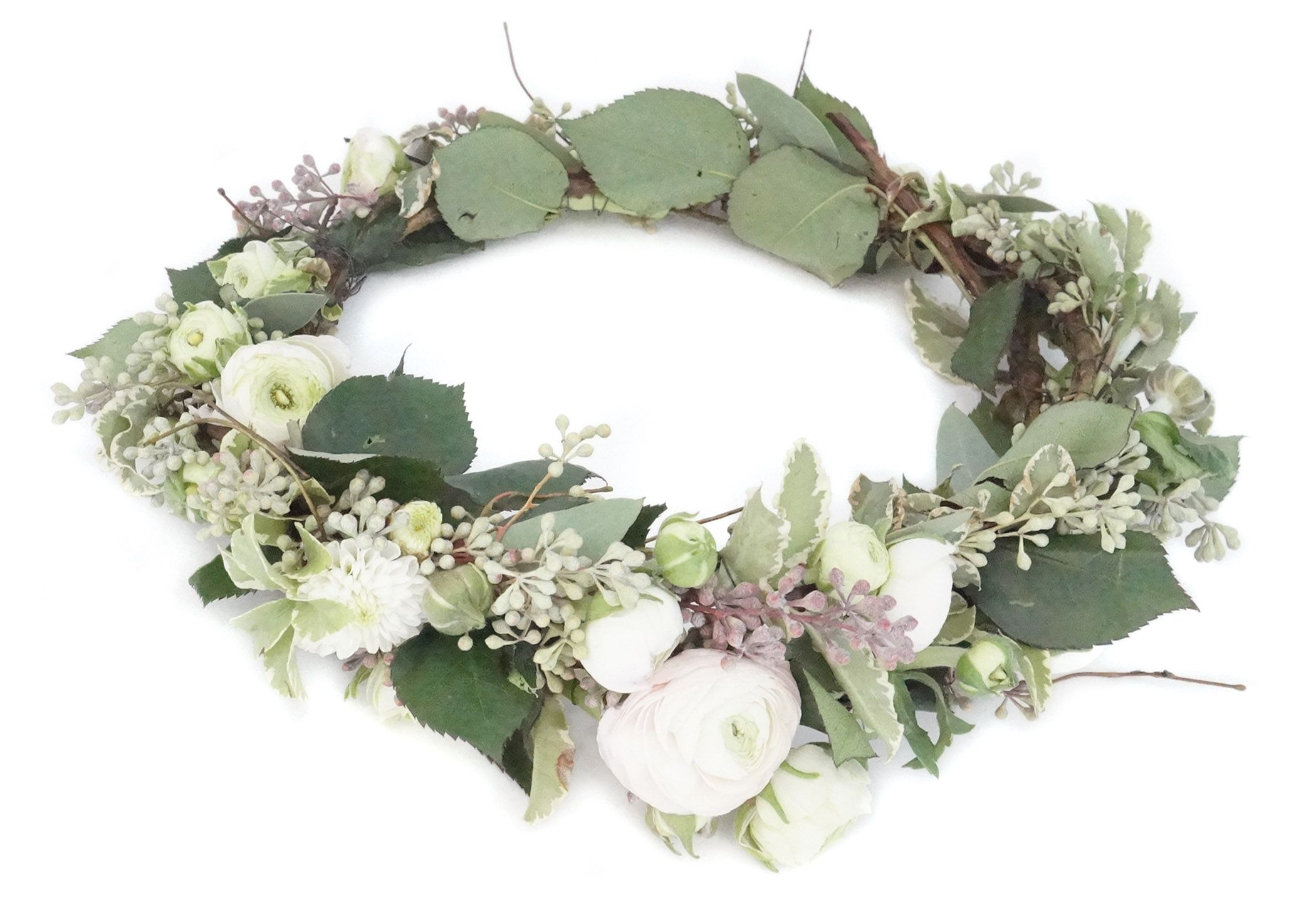 How to make a fresh flower crown fresh flowers flower crowns and how to make a fresh flower crown canadian living izmirmasajfo Images