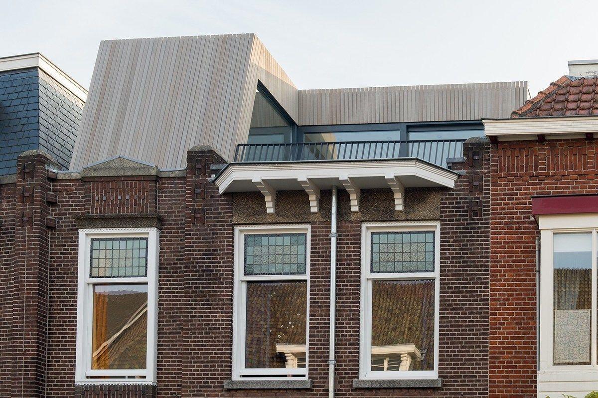 Moderne dakopbouw woning Architecten, Renovaties en