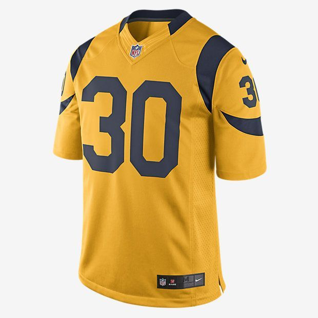 best cheap 965c9 7929e Nike NFL Los Angeles Rams Color Rush Game Jersey (Todd ...