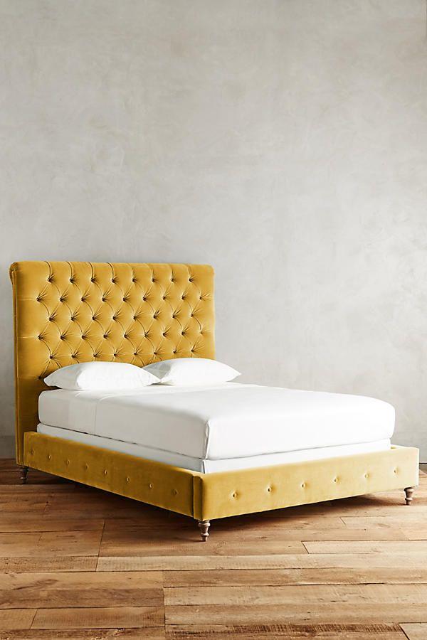 Slide View: 1: Velvet Orianna Bed