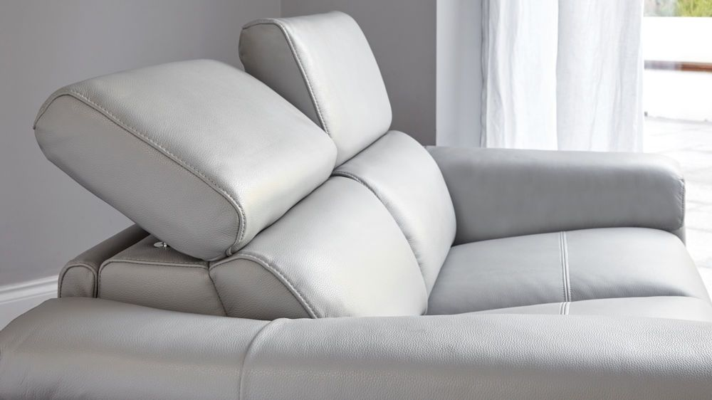 Wren 2 Seater Leather Recliner Sofa In 2020 Reclining Sofa Real