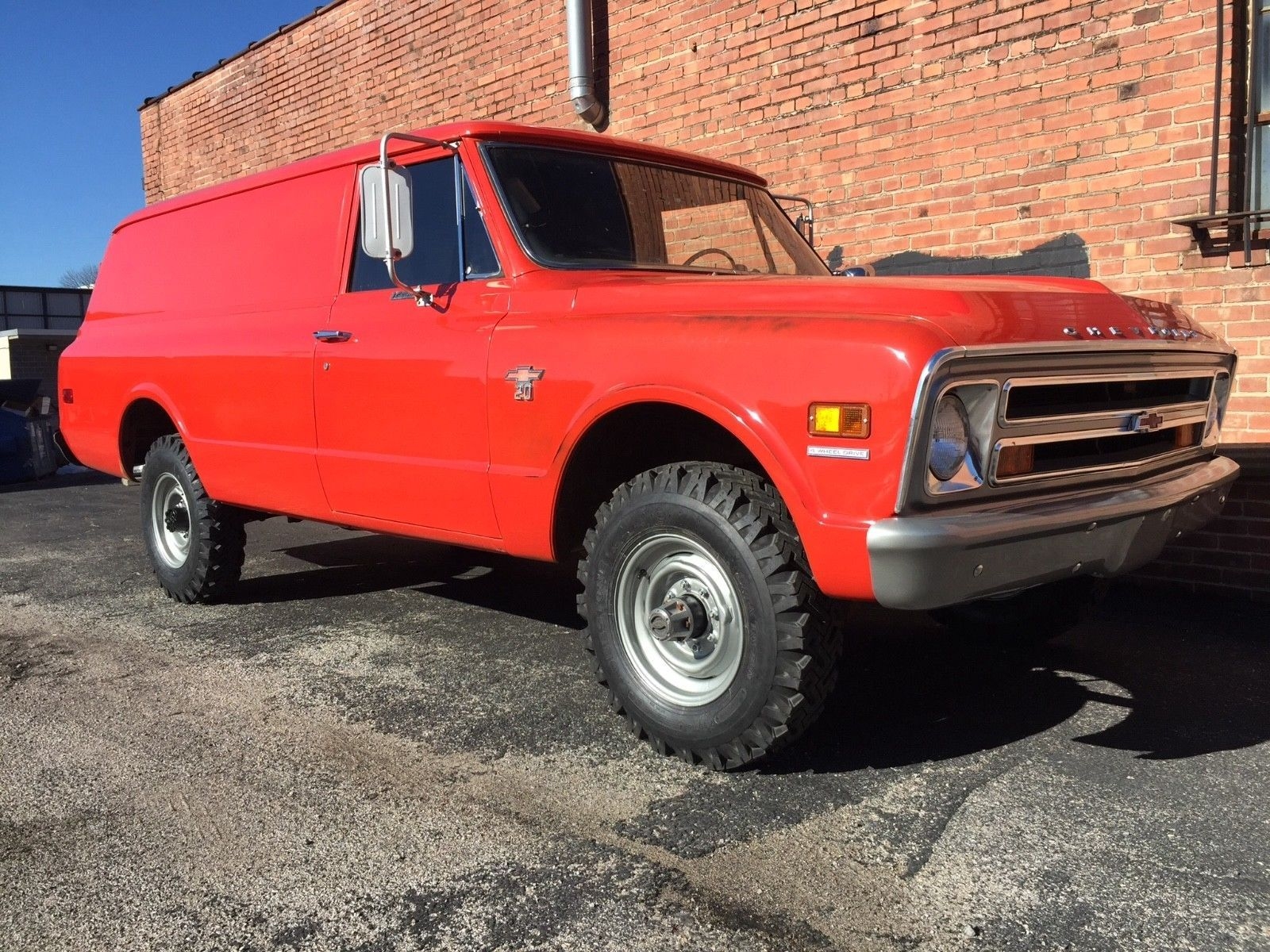 Awesome 1968 Chevrolet K20 Panel 3 4 Ton 4x4 1976 Chevy Truck K