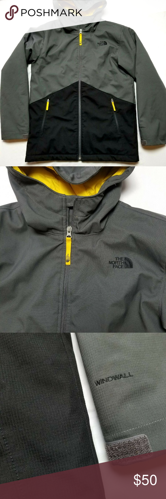 b746db66c The north face jacket boys large 14/16 windwall Mint condition, no ...