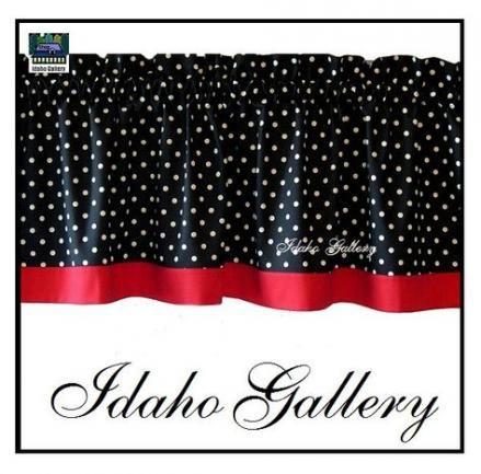 Best New Kitchen White Red Curtains Ideas Red Kitchen 400 x 300