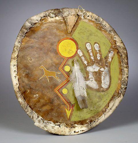 American Indian War Shield Design   Plains Indians War Shields