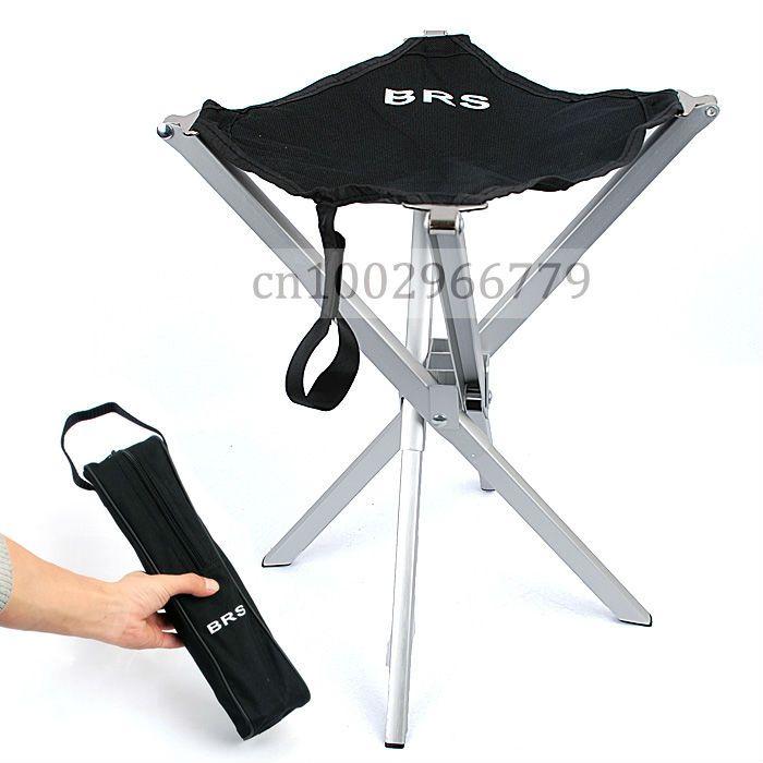 Outdoor Aluminum Alloy Ultralight Portable Folding Stool Mazha Camping Fishing Chair