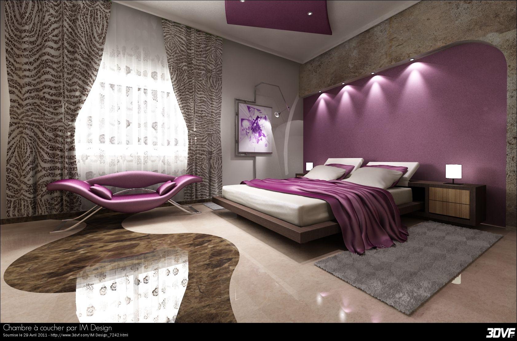 chambre a coucher portfolio de tarmiz ilyes im design chambre à ...
